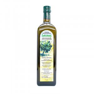 Оливковое масло Latzimas Extra Virgin 1 л (стеклянная бутылка)