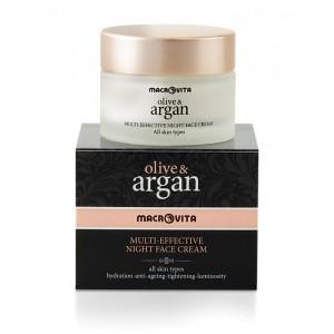 Мульти-эффективный ночной крем для всех типов кожи