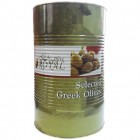 Оливки зеленые крупные с косточкой Royal 4,2 кг